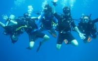 Manta Dive Training Fun