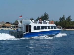 Fast boat to Gili Air