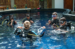 SSI Dive Courses at Manta Dive Gili Air